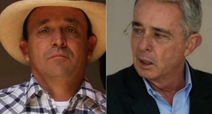 Santiago y Álvaro Uribe