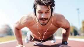 Hombre haciendo ejercicio