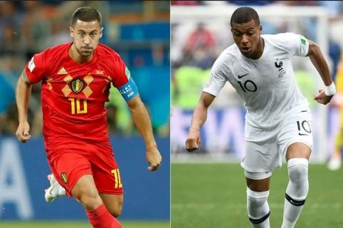 Francia vs. Bélgica
