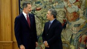 Iván Duque y el Rey de España
