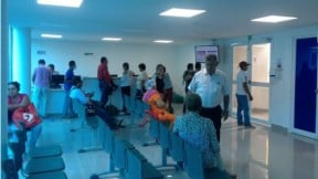 Un centro de atención de Medimás
