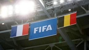 Banderas de Francia y Bélgica
