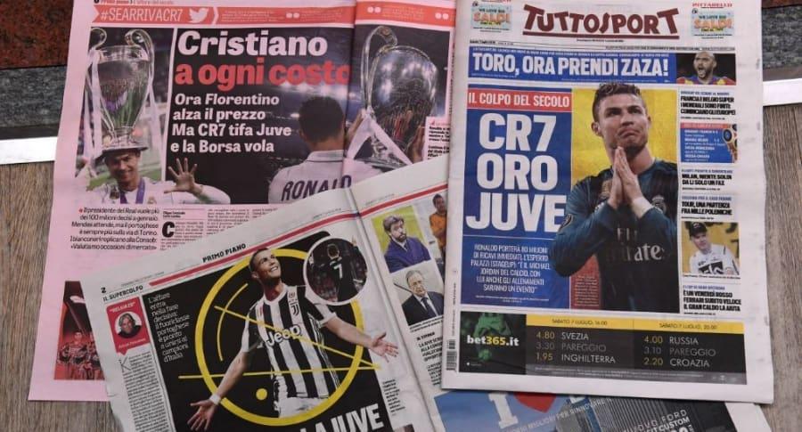 Cristiano a Juventus