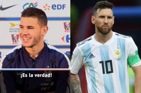 Lucas Hernández / Lionel Messi