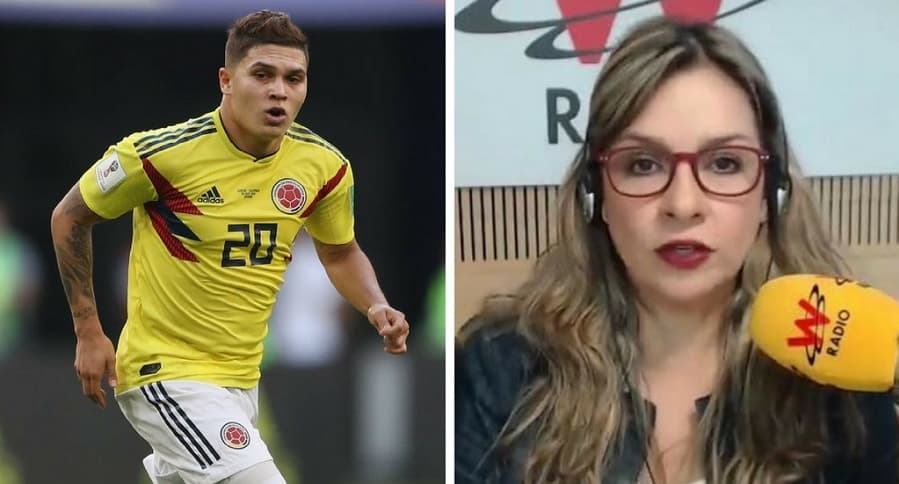 Quintero y Vicky Dávila