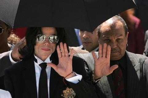 Michael Jackson y Joe Jackson