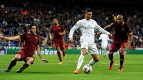 Cristiano Ronaldo contra la Roma