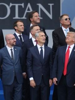 Donald Trump y otros líderes del mundo