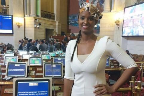 Vanessa Mendoza, exreina de Belleza y representante a la Cámara