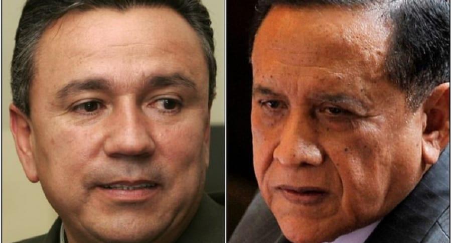 Generales (r) Mauricio Santoyo y Miguel Maza Márquez