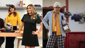 Mónica Rodríguez y Carolina Soto, presentadoras, y 'Suso, el paspi', humorista.