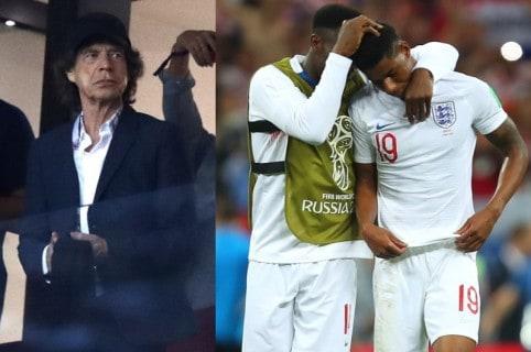 Mick Jagger / Selección Inglaterra