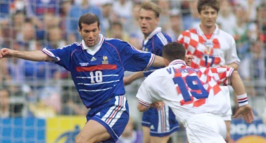 Francia vs. Croacia, 1998