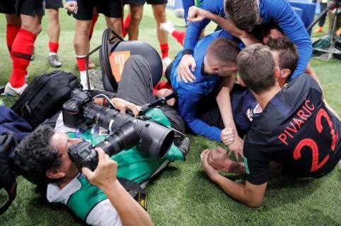 Fotógrafo aplastado