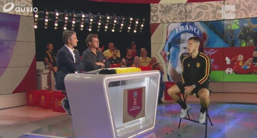 Entrevista a Eden Hazard