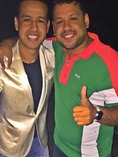 Luis Ángel y Martín Elías Díaz, cantantes