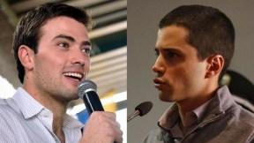 Esteban Santos y Tomás Uribe