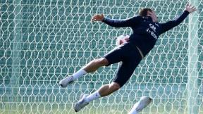 Entrenamiento de la selección de Francia