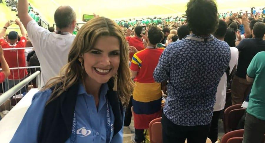 Rochi Stevenson, presentadora.