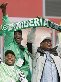 Fans nigerianos