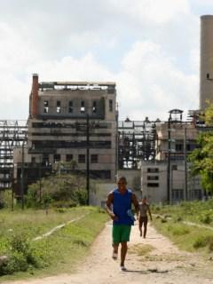 Ruinas de Hershey en Cuba