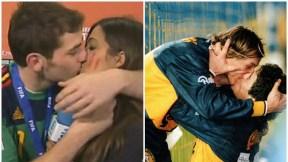 Sara Carbonero e Iker Casillas - Diego Maradona y Caniggia