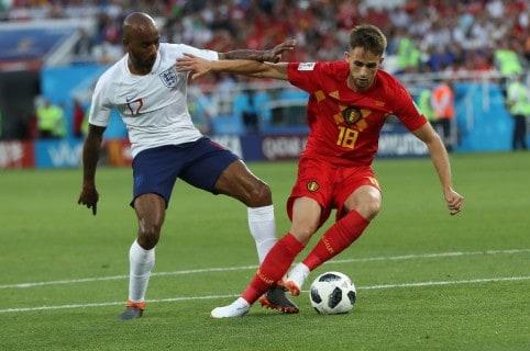 Bélgica-Inglaterra en la primera fase del Mundial