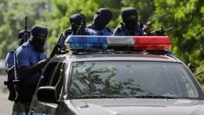 Patrulla de la policía nicaragüense