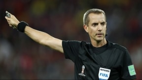 Mark Geiger, árbitro del partido entre Colombia e Inglaterra