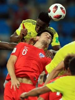 Gol de Yerry Mina a Inglaterra