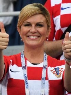 Presidenta de Croacia