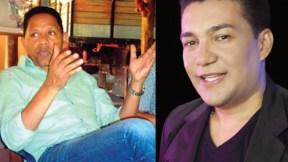 Israel Romero y Junior Santiago