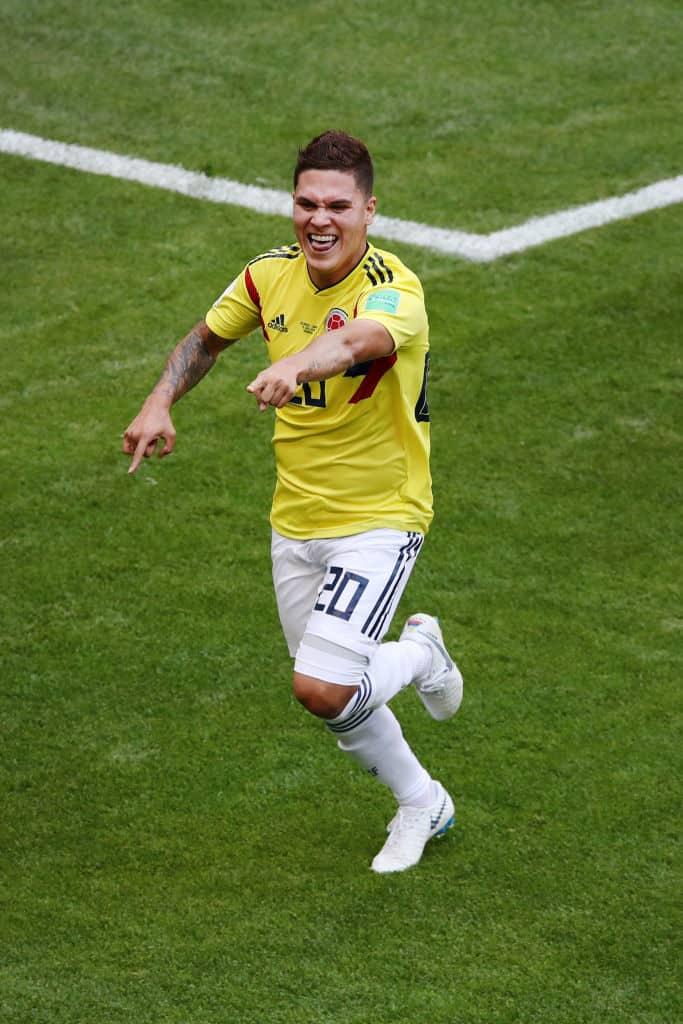 Colombia v Japón