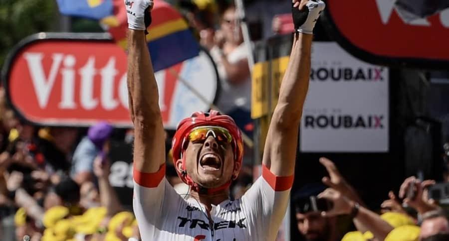 John Degenkolb, ganador de la etapa 9 del Tour de Francia.