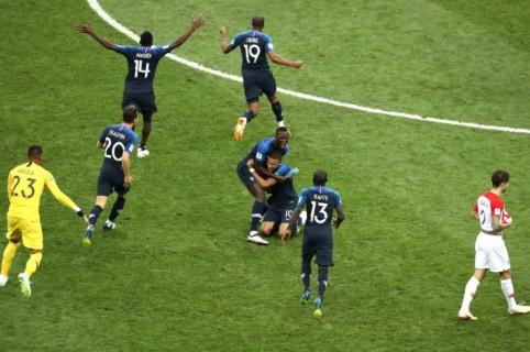 Francia, campeón de Rusia 2018