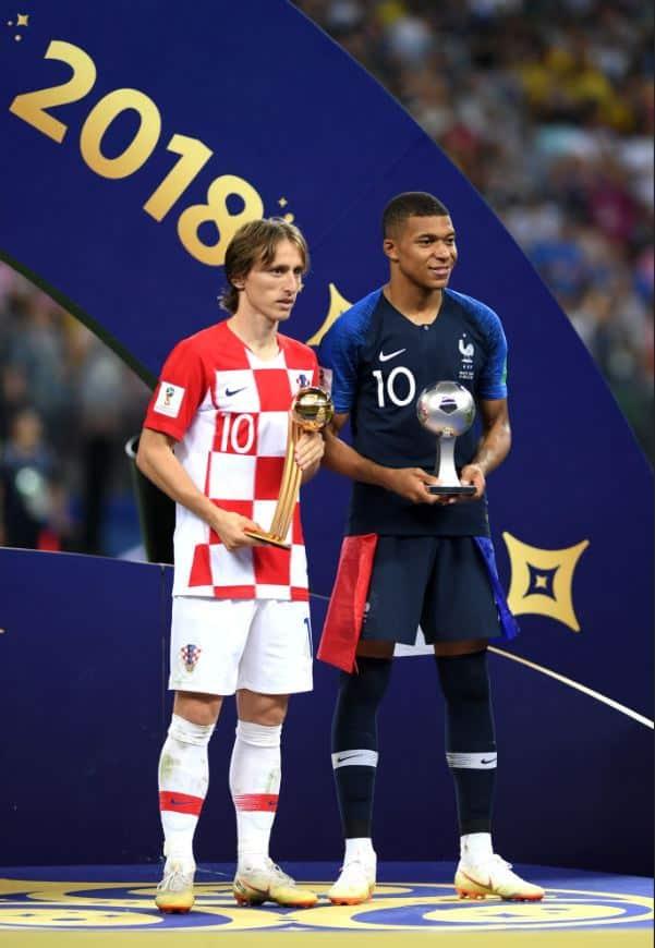 Mbappé y Modric