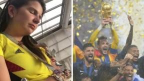 Colombiana dormida Mundial