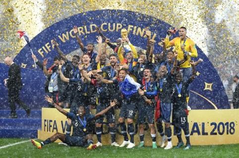 Francia, campeón mundial