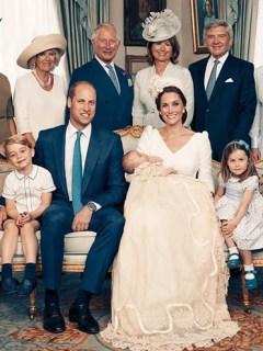 Guillermo familia real bautizo