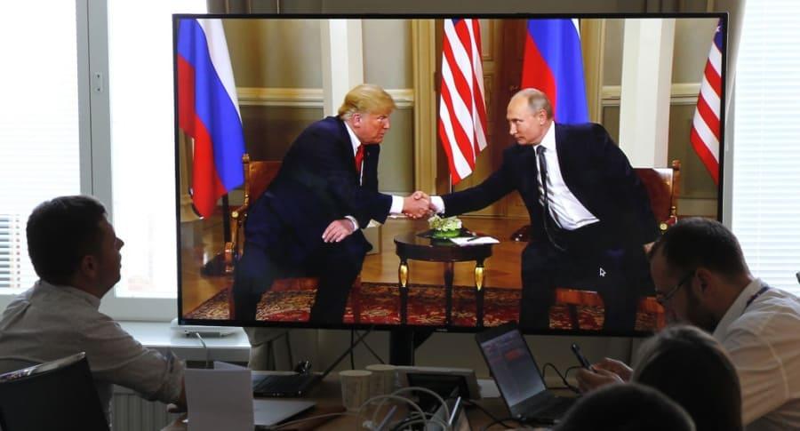 Cumbre de Putin y Trump en Finlandia