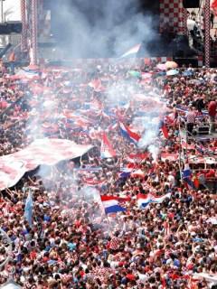 Afición de Croacia