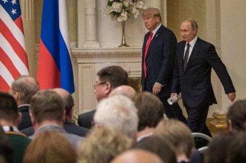 Donald Trump y Vladimir Putin