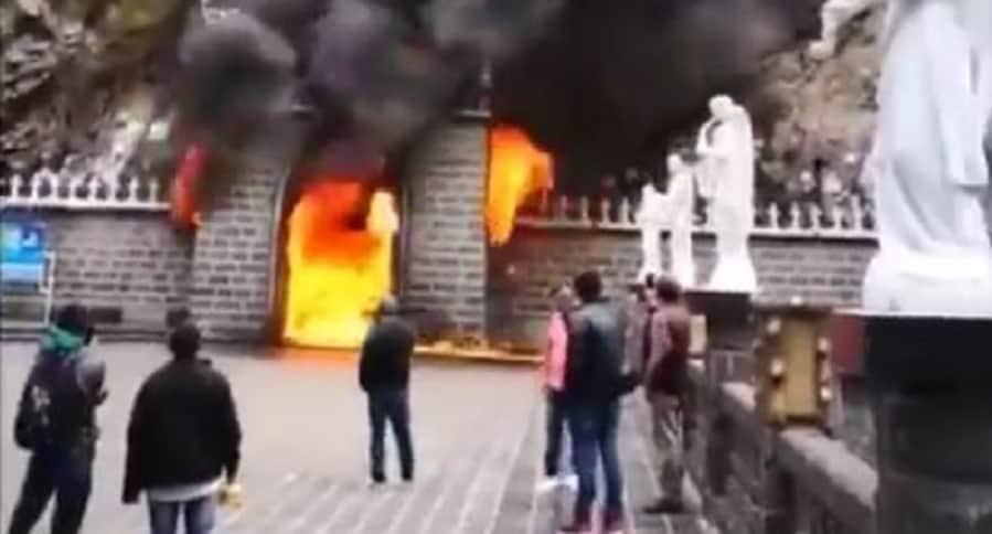 Incendio en Ipiales
