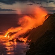 Volcán Kilauea, en Hawái.