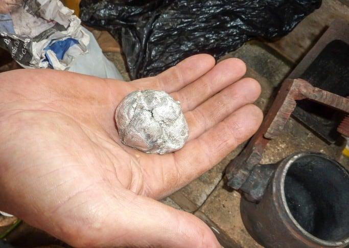 Mercurio en la minería