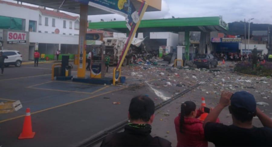 Explosión Chía