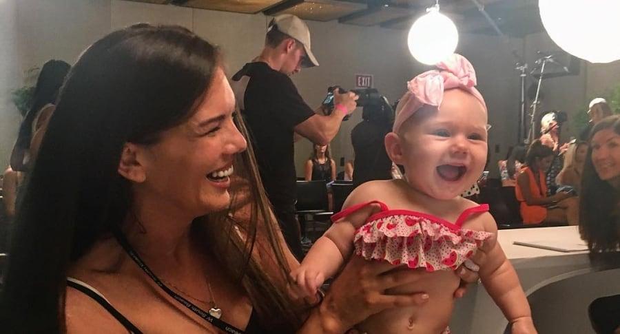 Mara Martin y su hija