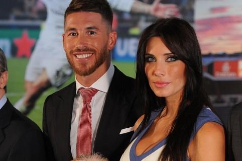 Sergio Ramos, futbolista, y Pilar Rubio, presentadora.
