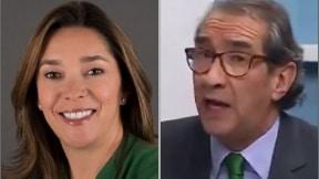 María Fernanda Suárez Londoño y Aurelio Suárez
