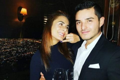 Johanna Fadul y Juan Sebastián Quintero, actores y esposos.